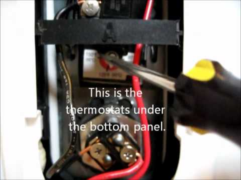 DIY how to adjust the temperature of the GE water heater