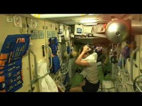 Washing Hair in Zero Gravity