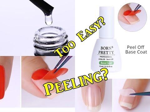 PEEL OFF Gel Nails? Does it works?