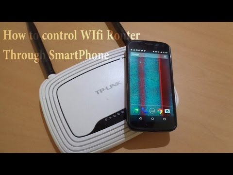 How to Manage Wifi Router Through your smartphone