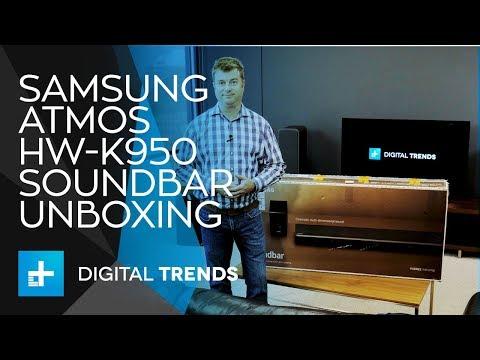 Samsung Atmos HW-K950 Soundbar - Unboxing and Setup