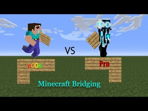 Different Types of Bridging in Minecraft!