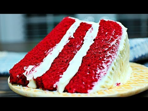 Rich and Decadent Red Velvet Cake Recipe - How to make the Most Amazing Red Velvet Cake