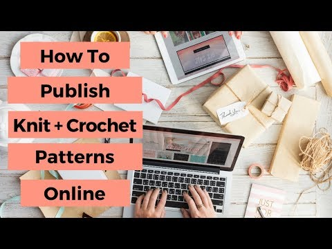 How to Publish Your Crochet and Knitting Patterns [Instagram LIVE replay with @TheQueenStitch]