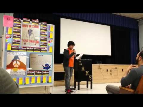 Mika : IS227 Anti-Bullying Poster Making Contest