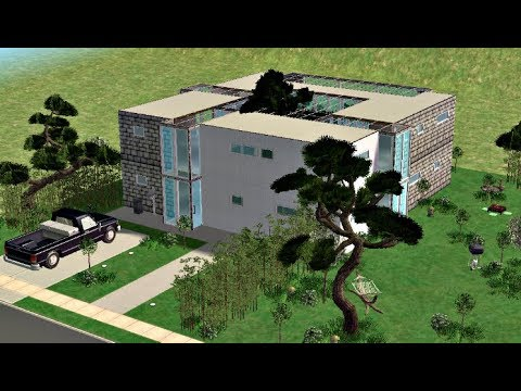 ♢ The Sims 2 ♢ Modern Square House ♢