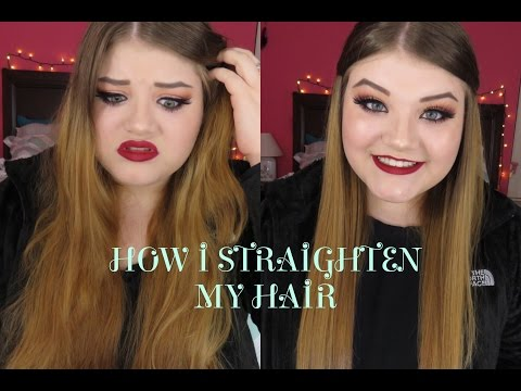 How to get Shiny, Soft, Straight Hair!
