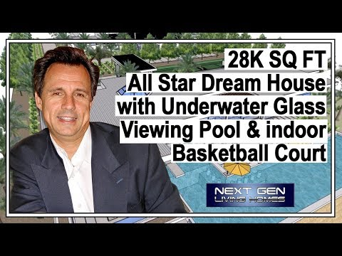 All Star Dream House with indoor Basketball Court