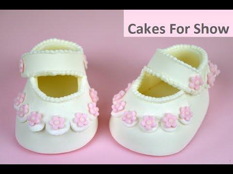 Making Sugar Baby Shoes