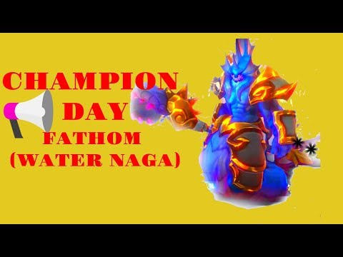 Dungeon Hunter Champions: The Champion of the Day Fathom (Water Naga)