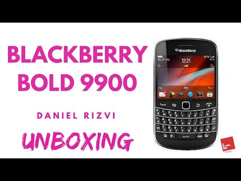Blackberry Bold 9900 Unboxing 2018 | Daniel Rizvi
