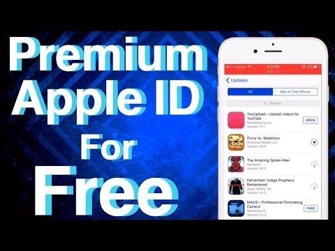 Mega Premium Apple ID for App Store Apps + Games on iOS 11/10 No Jailbreak/PC iPhone, iPad