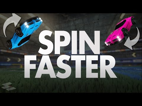 How To SPIN FASTER in Rocket League!