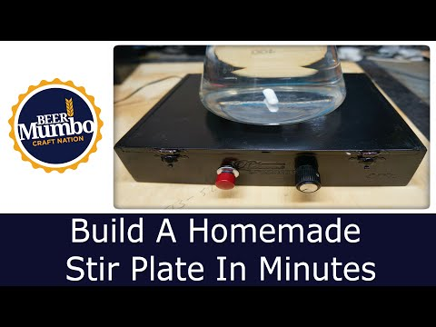 DIY - Build A Homemade Stir Plate In Minutes