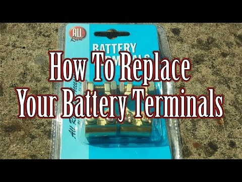 How to replace your battery terminals