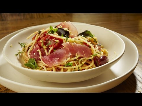 Harry Lilai's Spaghetti Puttanesca