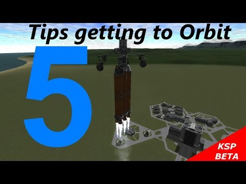 Kerbal Space Program 5 Tips Getting to Orbit