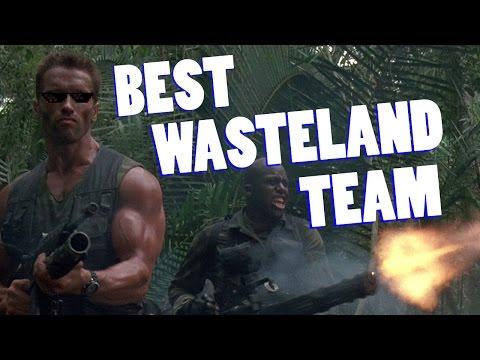 BEST WASTELAND TEAM + LEGENDARY LOOT! Fallout Shelter