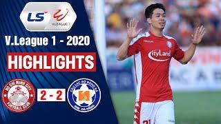 TP. Hồ Chí Minh vs SHB Đà Nẵng: 2-2   Highlights V.League 2020   On Sports