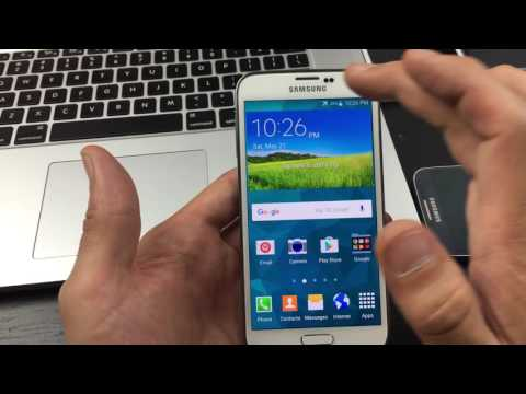 Galaxy S5: How to Enable Developer Options / USB Debugging Mode