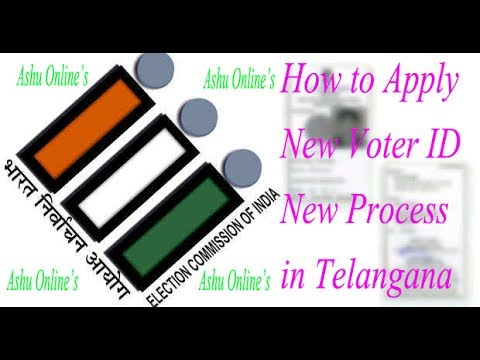 How to apply New Voter ID New Process in Telangana