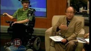 Interview of Steven Salmon, Author, who has severe Cerebral palsy