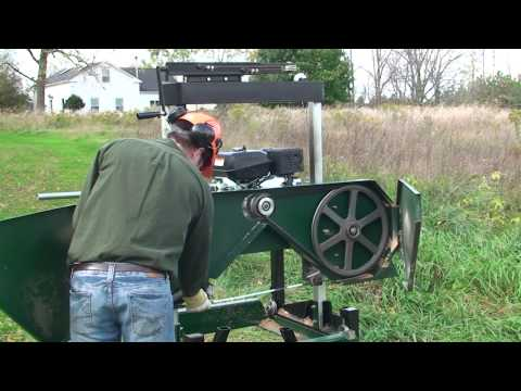 How To Change The Blade On The Woodland Mills HM126 Portable Sawmill