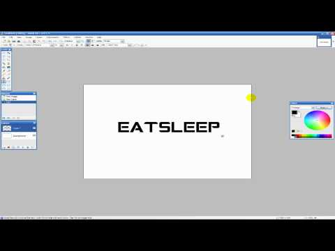 Basic Paint.NET Text Editing/Effects Tutorial