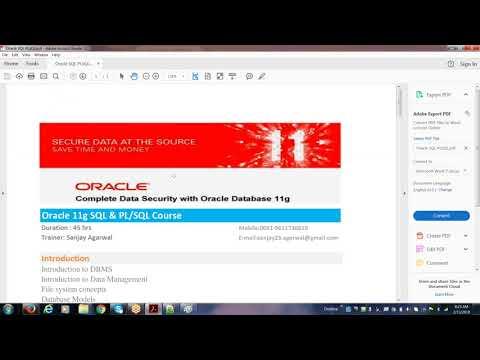 Oracle SQL and PL SQL Tutorial | Oracle SQL/PL SQL