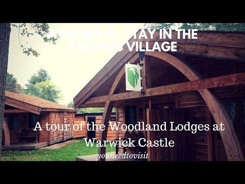 Knights Village Woodland Lodges at Warwick Castle