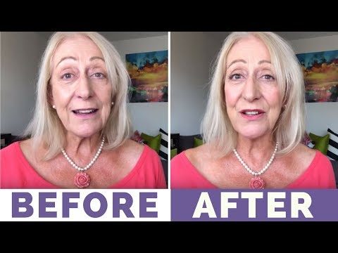 My 10 Minute, ELF Makeup for Older Women Routine - Let's Have Some Fun!