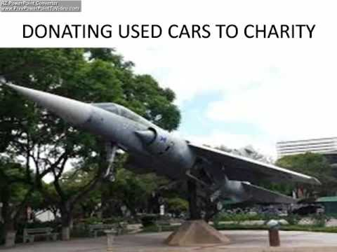 DONATING USED CARS TO CHARITY