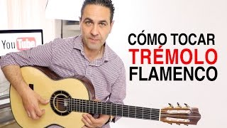 CÓMO TOCAR TRÉMOLO FLAMENCO (Jerónimo de Carmen TUTORIAL) Guitarraflamenca