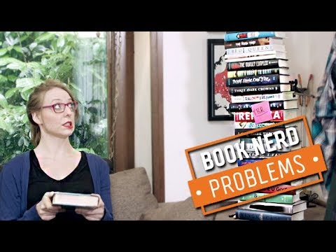 The TBR Pile is Getting Out of Hand | Book Nerd Problems