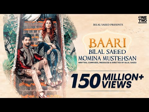Xxx Mp4 Baari By Bilal Saeed And Momina Mustehsan Official Music Video Latest Song 2019 3gp Sex