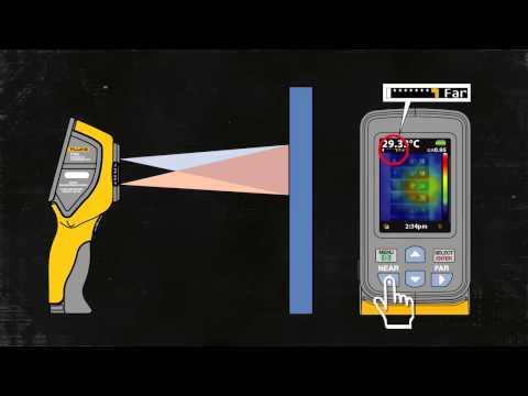 FLUKE VT02 - Visual IR Thermometer / Thermomètre Visuel IR
