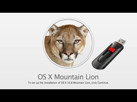How to Make a Mac OS X Lion or Mountain Lion Install USB Drive
