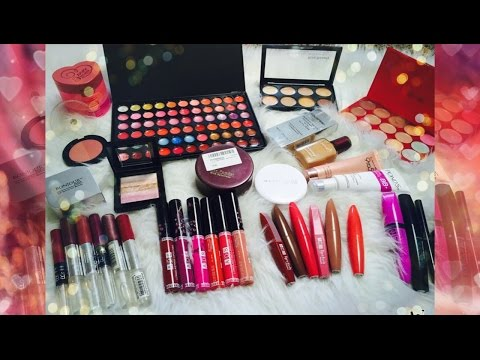 HUGE Makeup Haul | ADS, Lakme, Kiss Beauty, Colorbar & much more