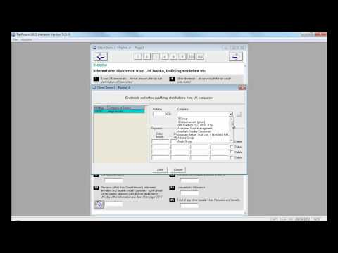 PTP Software refresher training 2012 Lesson 5 - using the dividend database