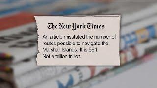 Correct Me If I'm Wrong: A Trillion Trillion