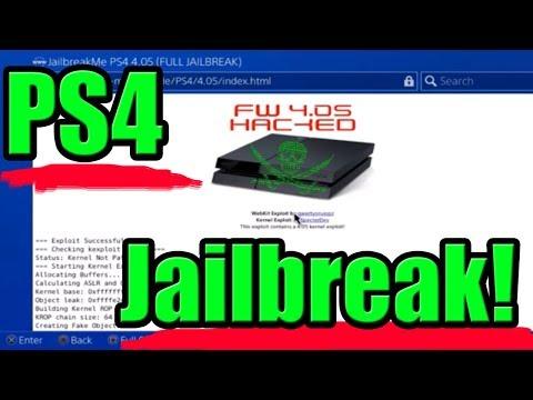 PS4 Jailbreak (4.05) - Mods Info! +Download