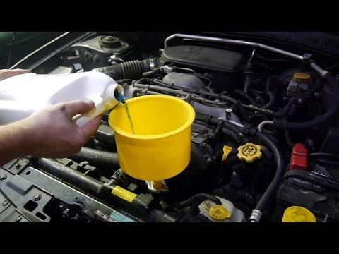Changing Coolant / Antifreeze 07 Subaru Impreza 2.5i