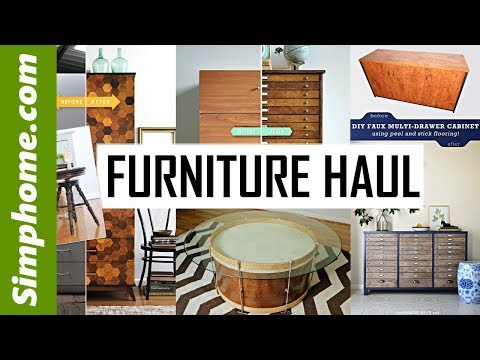28 challenging Furniture Haul
