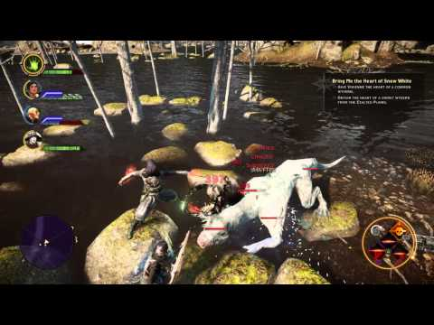Dragon Age Inquisition Bring Me The Heart of Snow White Snowy Wyvern Location