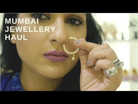 Mumbai Costume Jewellery   Haul   Sonal Maherali