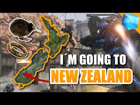 TO NEW ZEALAND! - An Update Video [HALO REACH GAMEPLAY]