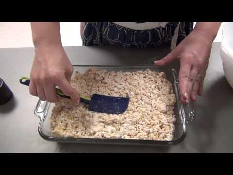 rice krispy treats microwave step 7