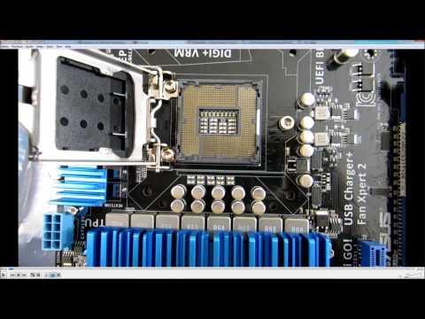 ASUS Socket 1155 motherboard Pin Check for Newegg RMA part deux