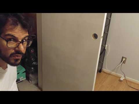 Painting closet door white