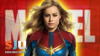 Finally! Our First Look at Captain Marvel! - SJU